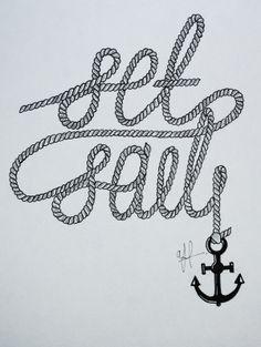 'Set Sail' Typography on Behance
