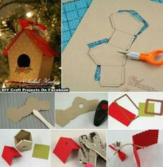 Cool birdhouse ornament to make