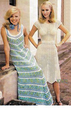 Crochet Pattern, Crochet Dress PDF Pattern, Maxi Chevron Dress Pattern, Crochet Instant Download Pattern  by KinzieWoolShop on Etsy https://www.etsy.com/listing/181577450/crochet-pattern-crochet-dress-pdf