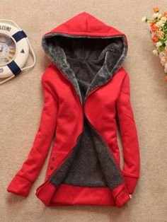 Wizard Red Hooded Jacket