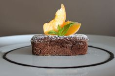 Mini souffle al cioccolato . Mini souffle de chocolate.Bavette | Bavette