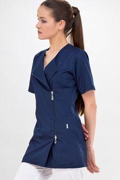 Dental Uniforms, Scrubs Outfit, Office Uniform, Collection Couture, Medical Scrubs, African Men, Kimono, Rain Wear, Bleu Marine