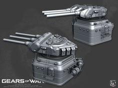 ArtStation - Gear of War 3 Environments, Pete Hayes