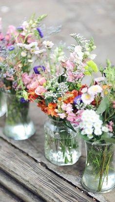 Wild Flower Bouquets....