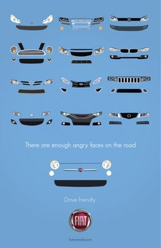 Fiat 500 - There are enough angry faces on the road