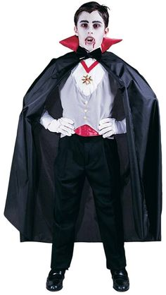 Childs vampire costume childrens costumes patterns pinterest vampire costumes for 5t boys classic vampire childrens halloween costumes cs003571 1595 solutioingenieria Image collections
