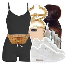 """1367"" by ashley-mundoe ❤ liked on Polyvore featuring RIFLE, Sonix, WithChic, MCM and NIKE"
