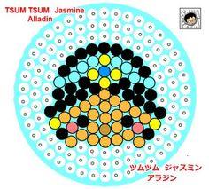 Jasmine - Aladdin Perler Bead Pattern