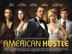 American Hustle -  I really enjoyed it. Some people are criticizing it as a Scorsese knockoff, and there's some truth in that, but it's TONS of fun and the cast is fantastic. Someone give Amy Adams an Oscar already! She looks and is amazing. Jenifer Lawrence once again steals all the scenes she's in, and Christian Bale's transformations are at this point the stuff of legends. Special award for Bradley Cooper's perm. :)