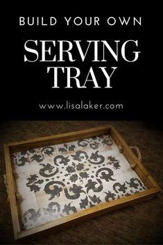Wood tray ideas, scrap wood ideas, how to build a tray, diy craft projects, decorative serving trays ideas, how to build a decorative serving tray