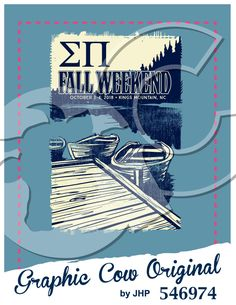 Fall Weekend dock boat lake outdoors #grafcow