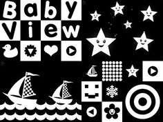 Baby View Classical Music- Soothe and relax your baby - High Contrast - Infant Visual Stimulation - YouTube