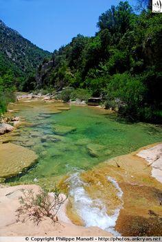 Gorges du rio Guatizalema (Sierra de Guara, Espagne)