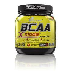 Olimp - BCAA X-PLODE 500g (smak ananasowy). Doskonały i kompleksowy produkt zapewniający optymalne środowisko dla przebiegu procesów anabolicznych, a także dostępność najwyższej jakości składników budulcowych. #aminokwasy #suplementdiety #silownia