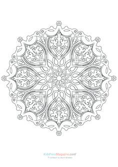 Mandalas for Experts Archives - KidsPressMagazine.com Mandalas
