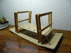 Picture of Simple Suspension Bridge Model Bridge Model, Bridge Structure, One Design, Design Model, Beam Bridge, Elmer's Glue, Bridge Design, Suspension Bridge, Floor Chair