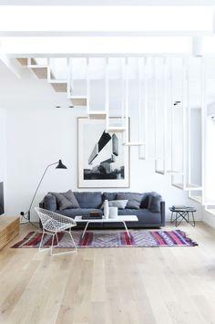 Einfach modern: Ein Appartement in Oslo