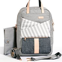 Gadikat Diaper Backpack - Dani Collection, Complementary Changing Pad Included