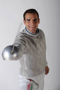 Aron Szilagyi-Hungarian Olympic and world champion swordsman, he scored Hungary's first gold medal in the 2012 Olympics. He started fencing when he was nine. Sports Personality, Olympic Sports, Olympics, Fence, Champion, Famous People, Legends, Culture, Stars