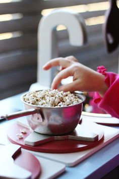 """Popped sorghum is high in protein and makes the most adorable """"mini popcorn!"""""""