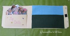 How to make a My American Girl  lapbook
