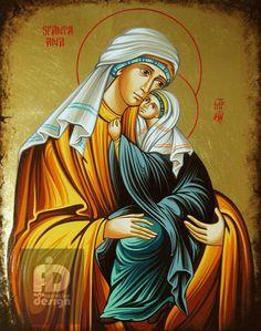 Sfanta Ana cu Maica Domnului