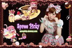 #spreepicky #lolita #hairbow #freeship   Colors: pink, pink with blue, Chocolate   to get the match Strap Dress from here:  http://spreepicky.storenvy.com/products/4171754-free-ship-lolita-cream-cat-strap-dress-3-colors  Return Policy: This item is eligible for return.  Availability: This item is shipped worldwide.