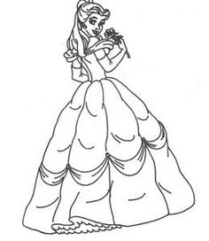 Free Printable Cinderella Princess Coloring Pages Online All About For Kids