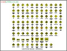 AD Format:        AutoCAD 2013   Block Type:         2D Blocks    Units:                   mm    Description:       USA Giving Warning Road Signs Cad Blocks, Autocad, 2d, Product Description, Signs, Type, Shop Signs, Sign