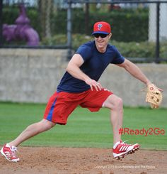 Chase Utley #Ready2Go - this makes me so happy! #phillies #baseball ⚾