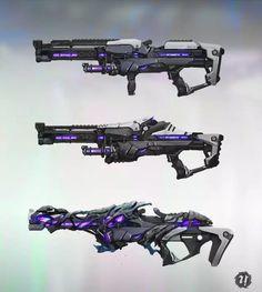 科幻枪械设计《概念设计师Gooba作品欣赏》