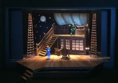 Pirate Ship: Scenic Design for PETER PAN by Linda Buchanan ...