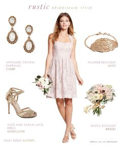 Planning A Rustic Wedding Here Are Few Folk Style Ideas By Dress For The
