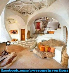 Awesome House Design! (Hobbit Home Maybe?)