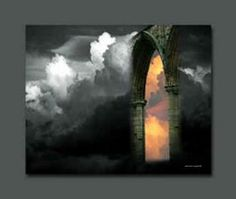 """The Open Door  """"After this I looked, and there before me was a door standing open in Heaven"""" —Revelation 4:1a (NIV)"""