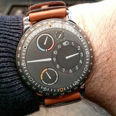 Ressence Type 3 ! A unique way to indicate time for an unusual watch !