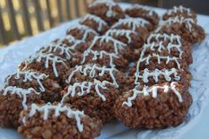 Family Ever After....: football rice krispie treats