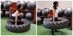Using a tire in a workout has been proven to make a significant difference in your body's overall conditioning, agility and strength.