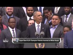 President Obama Zings New England Patriots Over Deflate-Gate and More During White House Visit [VIDEO] | FatManWriting