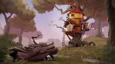 CGI Making of HD: Treehouse Enviroment by Kjartan Tysdal  https://www.youtube.com/watch?v=u7lr51Gr4d4