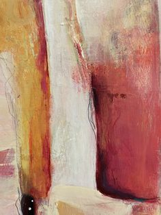 Red, pink, orange and yellow abstract painting. I love when a detail of a painting is almost a piece of art ! Art Moderne, Orange, Yellow, Art Pieces, Detail, Red, Pink, Painting, How To Paint