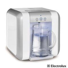 Purificador de Água Electrolux com Água Gelada e Indicador de Troca de Refil Branco