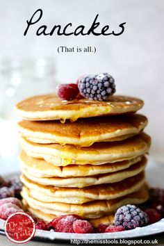 The Miss Tools: Perfect classic pancakes with buttermilk. Happy Pancakes Day! (Italian and English)