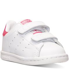 promo code f2312 429fe adidas Toddler Girls Stan Smith Casual Sneakers from Finish Line Kids -  Finish Line Athletic Shoes - Macys