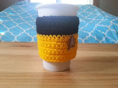 Star Trek TNG Inspired Cup Cosy by SciFiCafe on Etsy