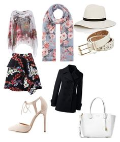 The Floral Style for Queenie by ryanlong-1 on Polyvore featuring polyvore, fashion, style, Lands' End, MSGM, Charlotte Russe, Michael Kors, Accessorize, Janessa Leone, GUESS and clothing