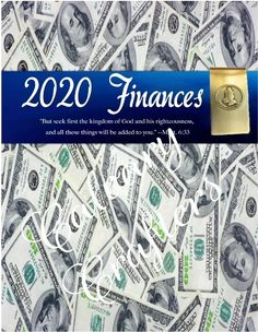 2020 Financial Planner Printable with a Freebie | Sincerely, Sapphire