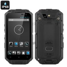 Rugged IP68 Android Smartphone 'T3S' – 4.3 Inch QHD Smart Touch Screen
