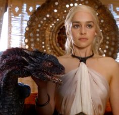 Daenerys and Drogon - Game of Thrones