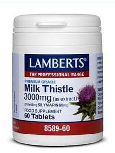 Lamberts Milk Thistle 3000mg 60 Tablets 8589-60 Lamberts Milk Thistle 3000mg 60 Tablets 8589-60: Express Chemist offer fast delivery and friendly, reliable service. Buy Lamberts Milk Thistle 3000mg 60 Tablets 8589-60 online from Express Chemist tod http://www.MightGet.com/january-2017-11/lamberts-milk-thistle-3000mg-60-tablets-8589-60.asp